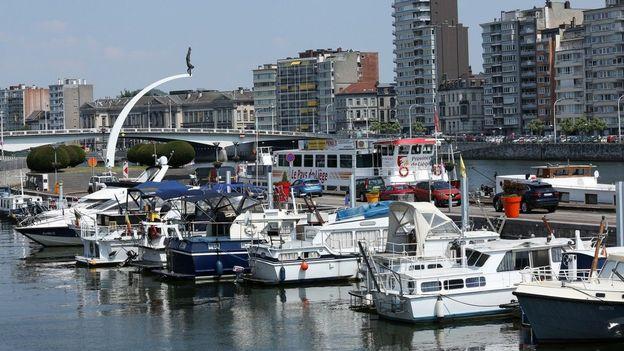 Le port des Yachts de Liège
