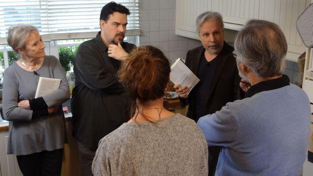 Martine Jolivet, Michel Dufranne et Thierry Bellefroid