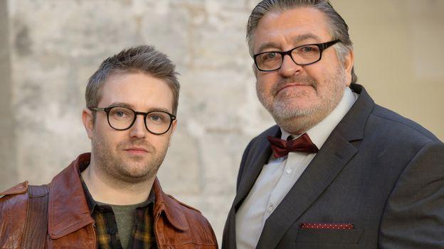 PLUS BELLE LA VIE  avec Thibaud VANECK (NATHAN) et Charles SCHNEIDER (ROCHAT)