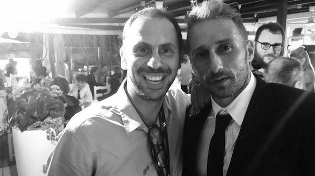 Frédéric Deborsu rencontre Matthias Schoenaerts à Venise