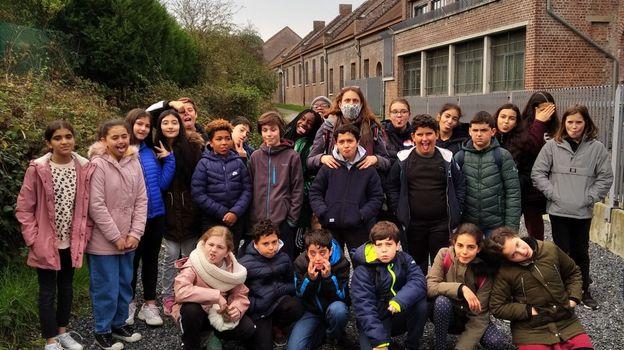 Notre classe niouzz de St-Michel à Jette