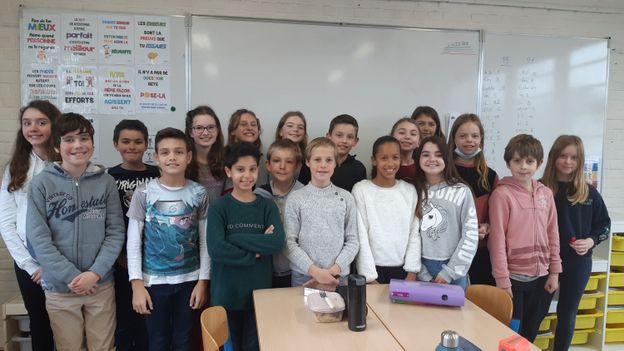 Classe niouzz Athénée royal de Waterloo