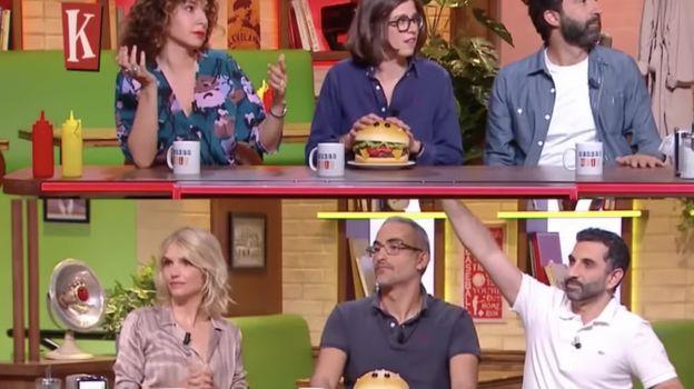 """""""Burger Quiz"""" : Laurent Baffie et Gérard Darmon s'affrontent !"""