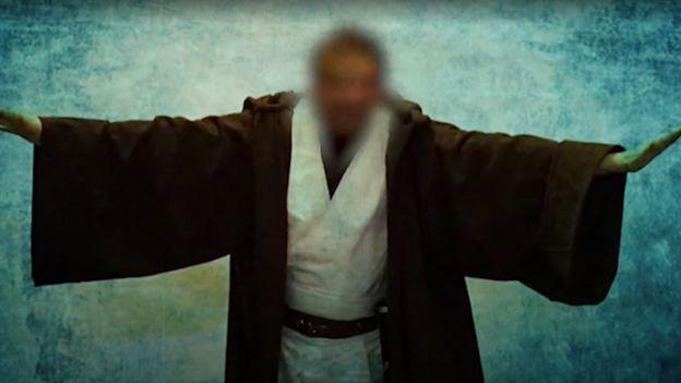 Grand fan de Star Wars, Didier Frère en maître Jedi !