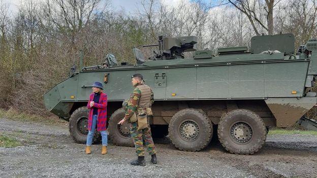 Arrmelle a rencontré le Bataillon du 4e Génie d'Amay