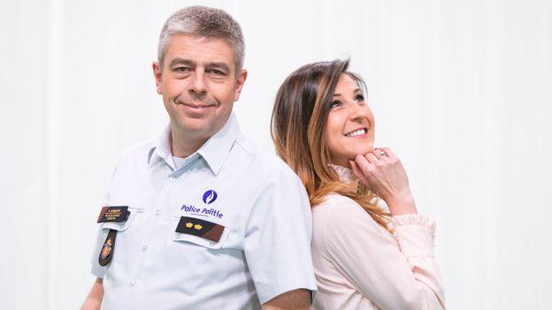 """Olivier Quisqater et Daniela Prepeliuc, le nouveau duo de """"Contacts""""."""