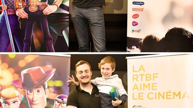 François Mazure met son fils à hauteur de l'info !