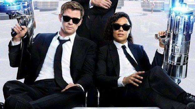 """Chris Hemsworth et Tessa Thompson dans """"Men in Black: International"""""""