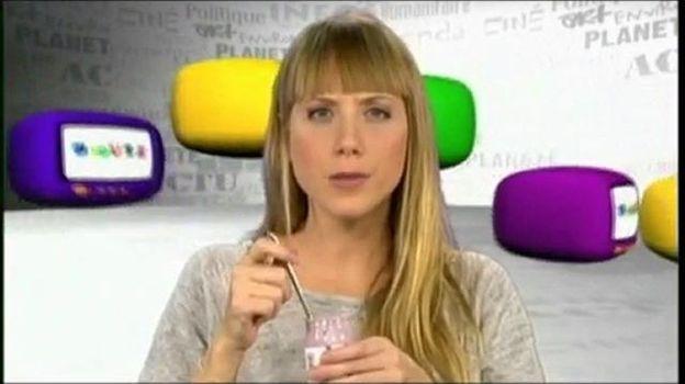 Anne-Sophie Delcour dans Les Niouzz en 2010