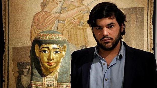 Jaume Bagot, jeune antiquaire espagnol de 31 ans soupçonné d'être l'un des plus grands trafiquants d'oeuvres d'art européen