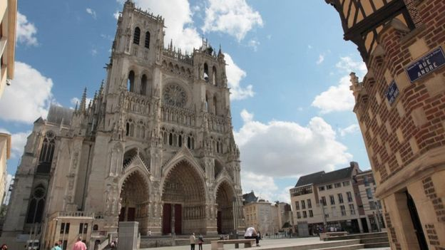 Notre-Dame d'Amiens. Photo : Somme tourisme