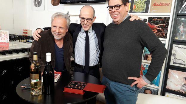 Thierry Bellefroid en compagnie de Fabrizio Bucella et de Laurent Gerbaud