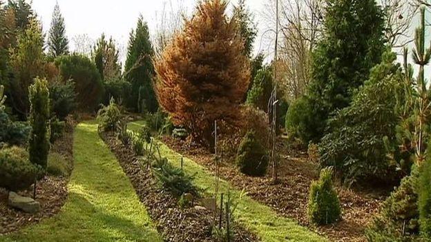 """Jardin de la pépinière """"Le Florilège"""" à Bastogne"""