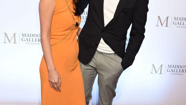 En 2018, avec sa femme Mara Lane.