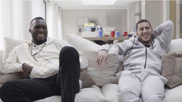 Eden Hazard et Christian Benteke : une amitié hors du commun !