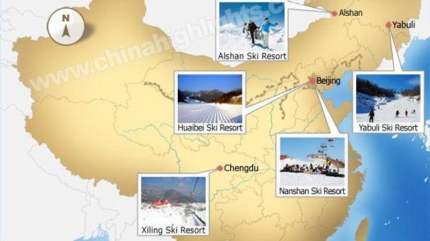 Skier en Chine
