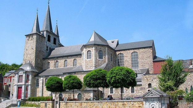 Collégiale Saint-Georges-et-Sainte-Ode, à Amay