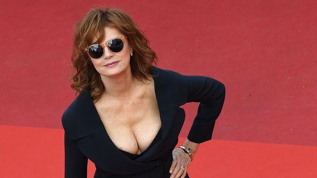 Susan Sarandon au festival de Cannes en 2017