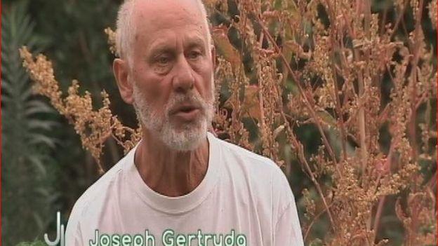 Joseph, la cheville ouvrière du potager de la prêle