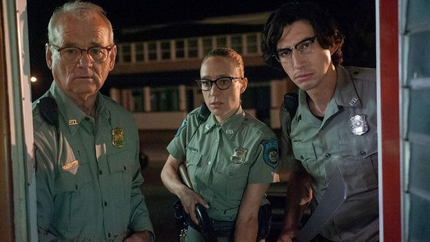 "Bill Murray, Adam Driver et Chloë Sevigny dans ""The Dead Don't Die"" de Jim Jarmusch"