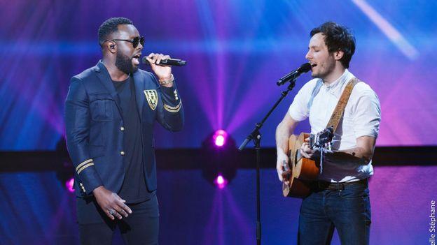 The voice belgique ma tre gims et vianney chantent leur nouveau duo rtbf the voice belgique - Vianney prenom ...