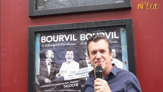 Vincent Taloche chante Bourvil à Paris
