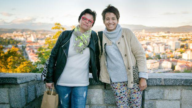 Magda et Elodie