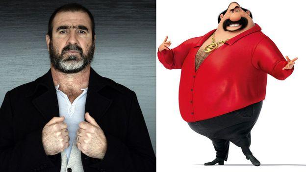Eric Cantona est Eduardo Perez