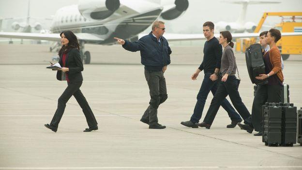 Kevin Costner, Chris Pine et Keira Knightly