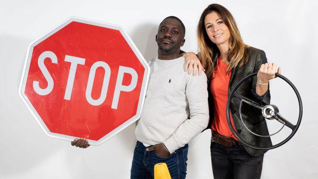 Joëlle Scoriels et Kody vous défient de (re)passer votre permis !