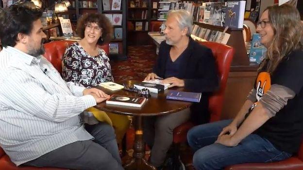 Michel Dufranne, Nathalie Van Hauwert, Thierry Bellefroid et Gorian Delpâture