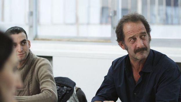 Vincent Lindon submergé par l'émotion