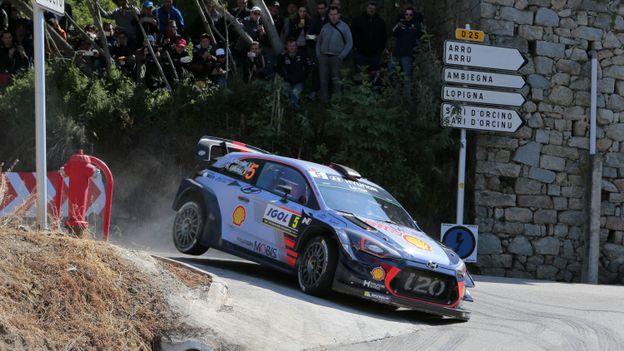 Rallye d'Argentine: victoire du Belge Thierry Neuville (Hyundai)