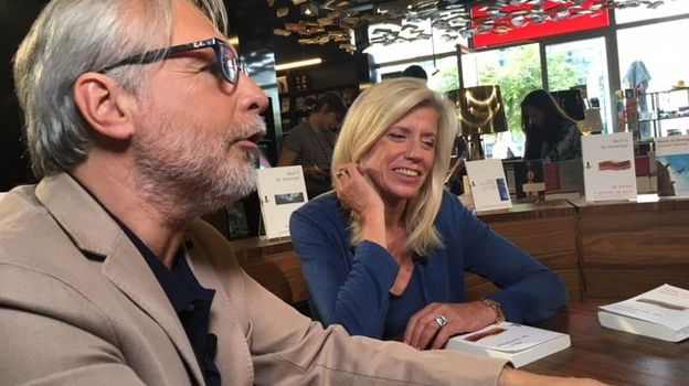 Thierry Bellefroid et Carine Leroi