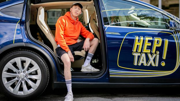 Eddy de Pretto dans Hep Taxi!