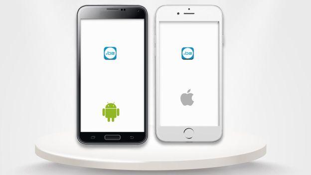 la nouvelle application mobile sur ios et android est disponible rtbf actu. Black Bedroom Furniture Sets. Home Design Ideas