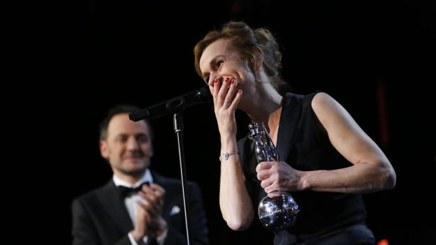 Sandrine Bonnaire reçoit le Magritte d'honneur