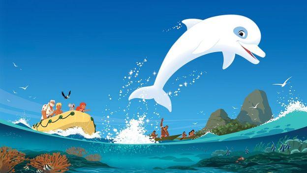 Oum le dauphin blanc, nouvelle version