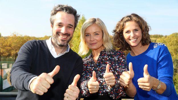 Adrien Devyver, Ophélie Fontana et Sara de Paduwa