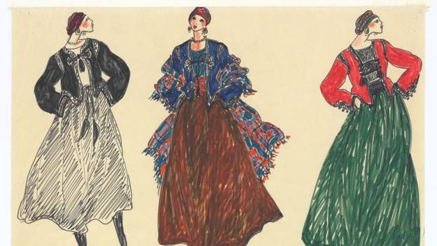 Les dessins de Yves Saint-Laurent