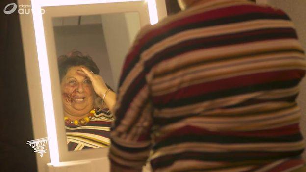 Mamy Nicole défigurée au BIFF !