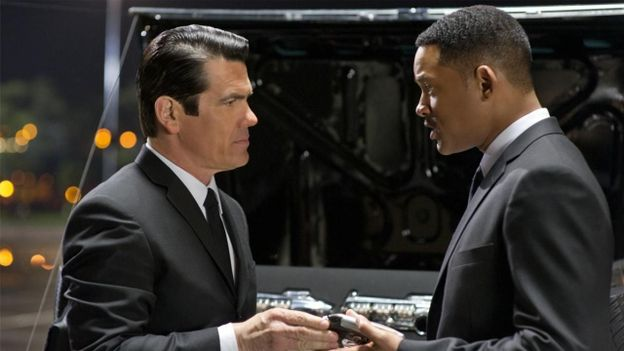 "Josh Brolin et Will Smith dans ""Men in Black 3"""