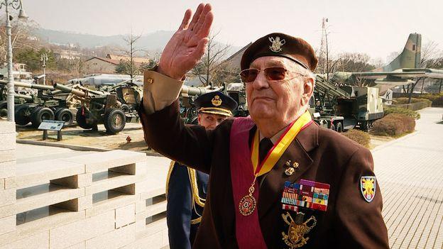 Raymond Behr, vétéran de la guerre de Corée