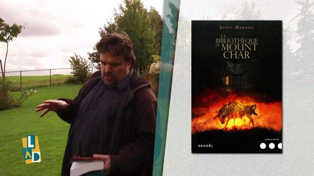 """Michel Dufrane présente le livre """"La Bibliothèque de Mount Char"""""""