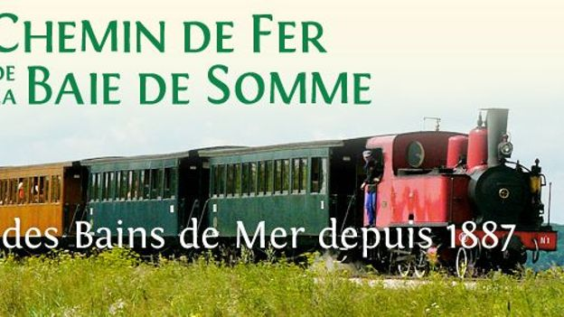 """tous les trois ans, le Chemin de fer de la Baie de Somme (CFBS) organise la """"fête de la vapeur"""" à Noyelles-sur-Mer."""
