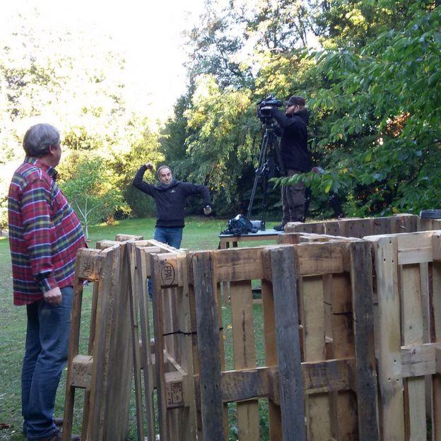 une réalisation facile et pratique au jardin - rtbf jardins loisirs