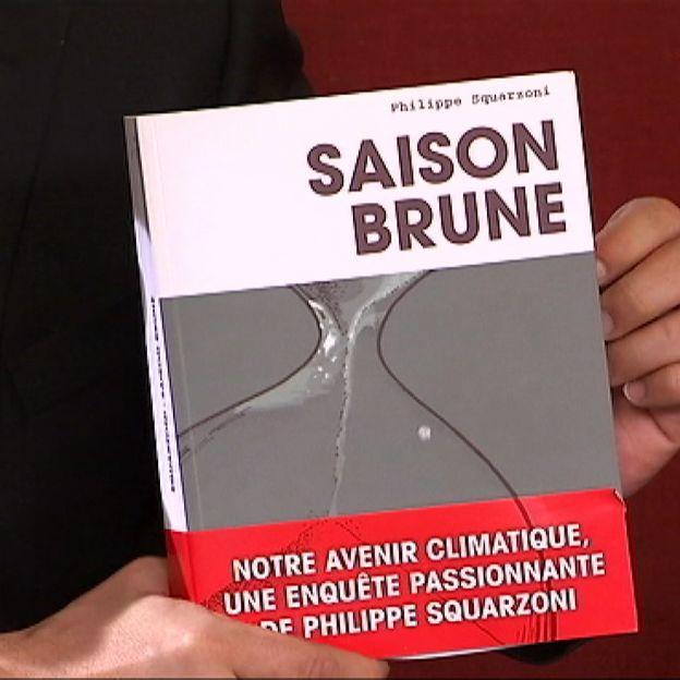 """Couverture livre """"Saison brune"""""""