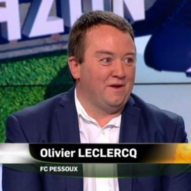 Olivier Leclercq, joueur du FC Pessoux
