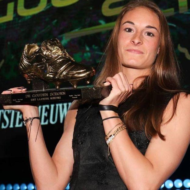 Tessa Wullaert, premier soulier d'Or féminin de l'histoire