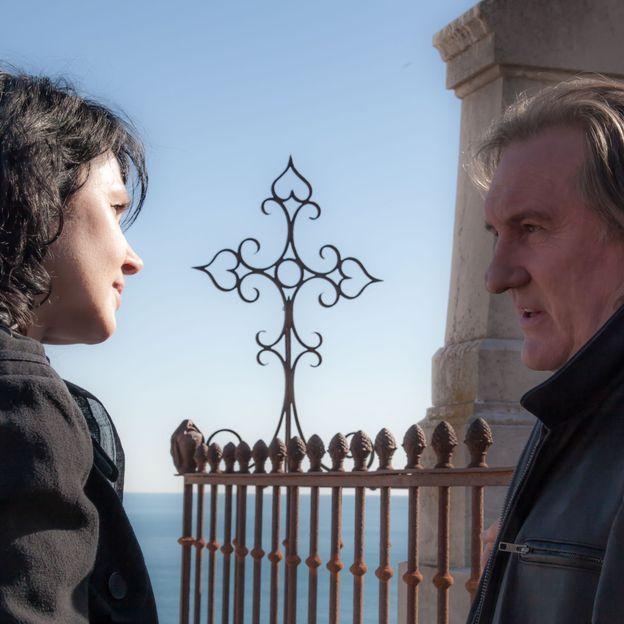 Avec Corinne Masiero et Gérard Depardieu
